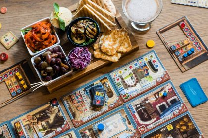 Draughts London board game cafe
