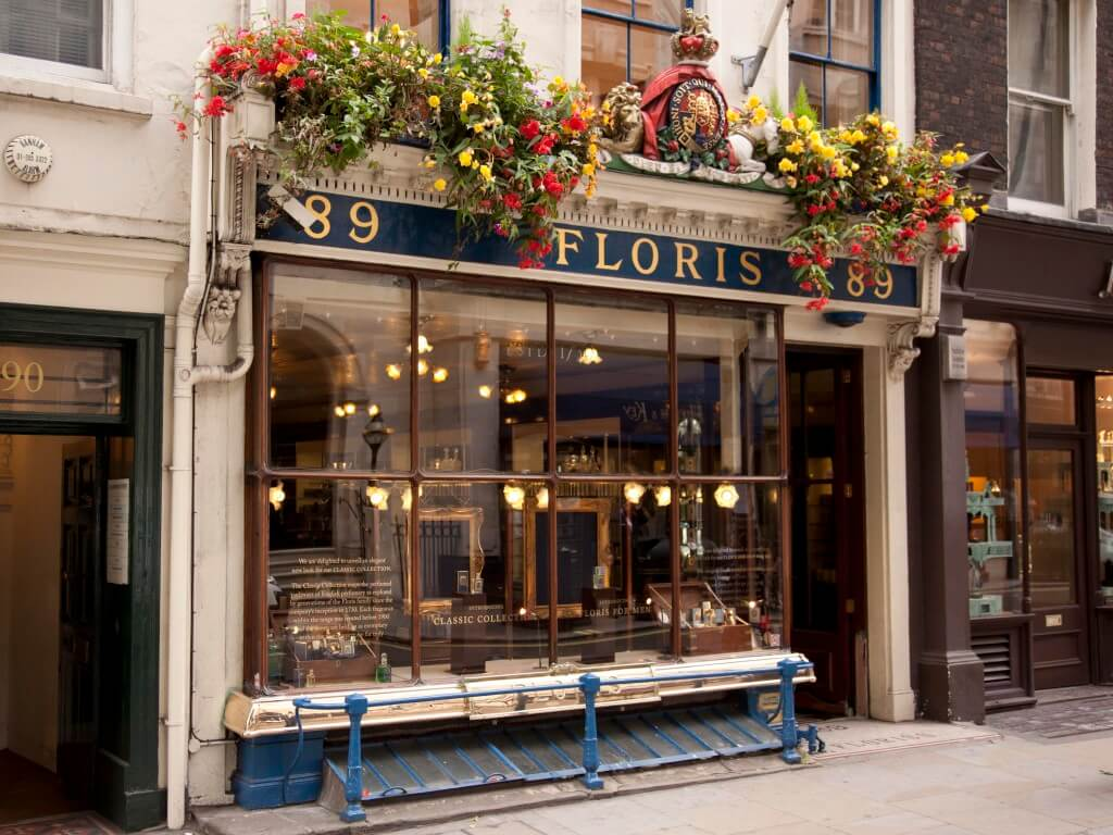 floris of london perfume personalisation