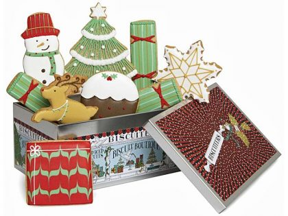 Happy Christmas Box from Biscuiteers