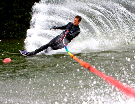 London waterskiing lesson gift certificate