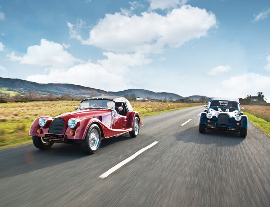 morgan driving experience