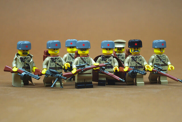 red army lego