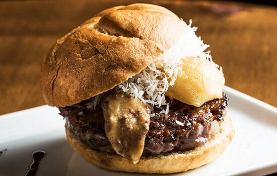 Beef Foie Gras Sandwich