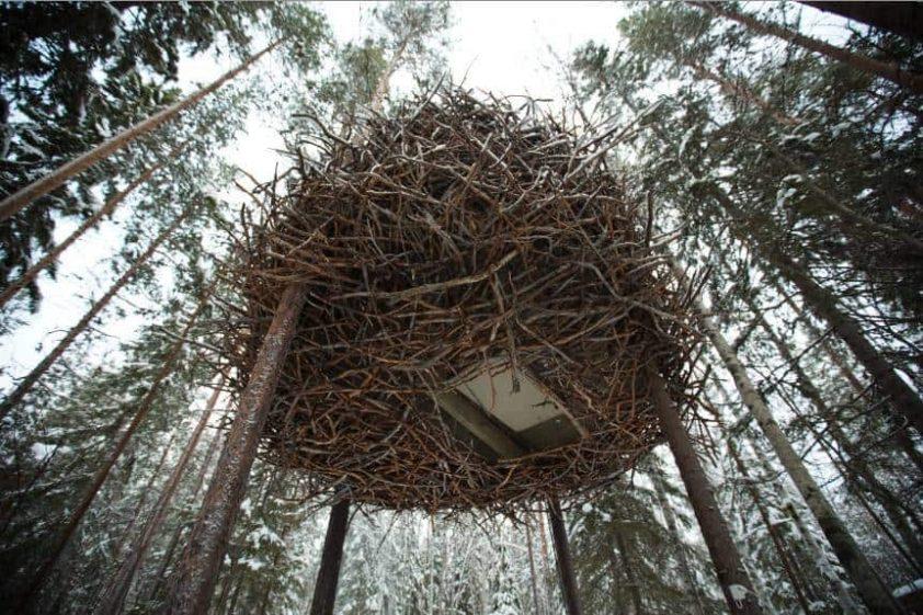 Bird's Nest Hotel Sweden