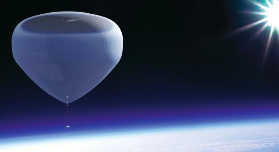 Bloon Near Space Flight