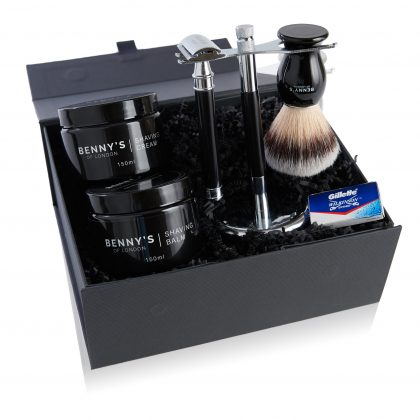 Benny's shaving kit Christmas gift
