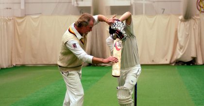 Private lesson for him Lords Cricket Ground
