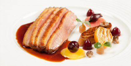 Food Bresse Duck Ritz Restaurant