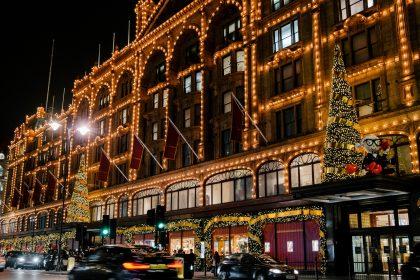 Harrods Christmas Shopping