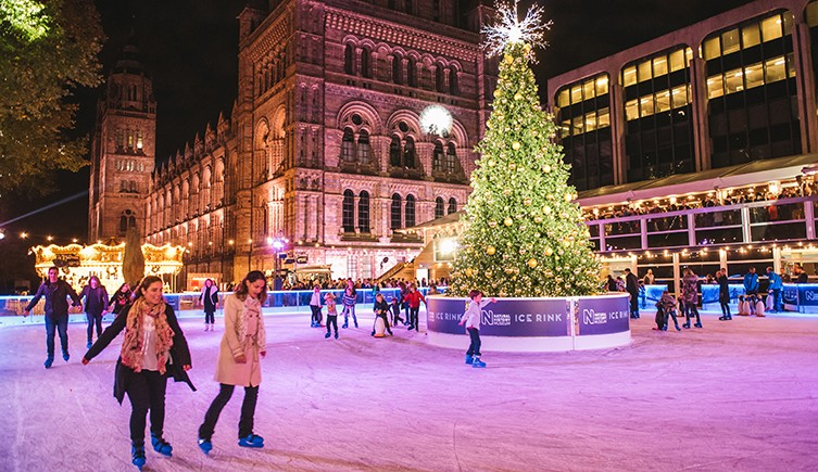 London National History Museum Ice Rink
