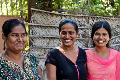Happy women of Jaffna, Sri Lanka