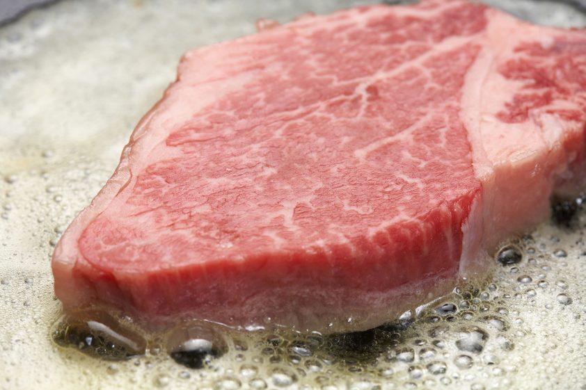 Waygu beef steak