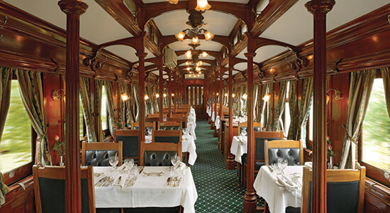 Luxurious Train Rides Around The World