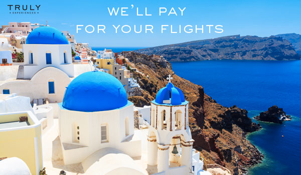 We'll Pay for Your Flights