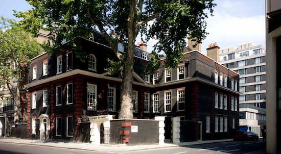 Bourdon House, home of Alfred Dunhill