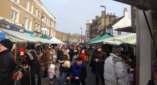 Top Street Food Markets in London