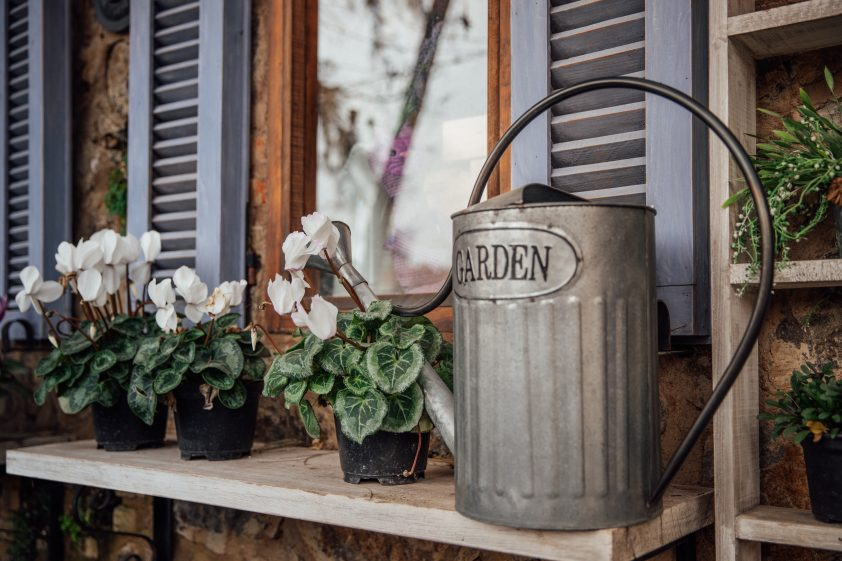 Tin Watering Can Anniversary Gift