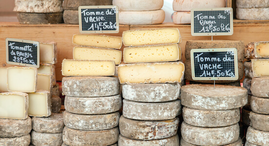 French Love Affair with Cheese