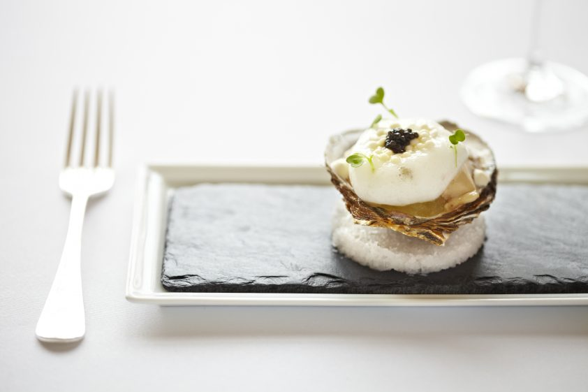 Edinburgh Michelin star restaurant Martin Wishart