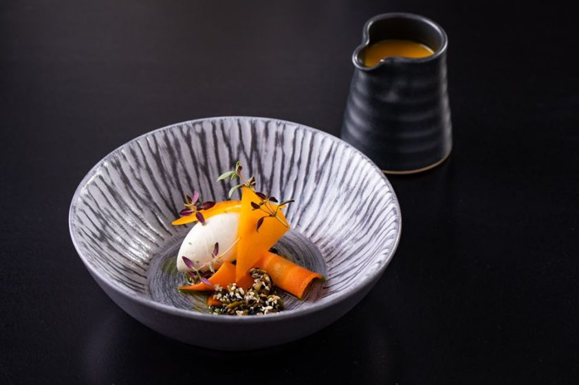 Michelin star dining at Purnells