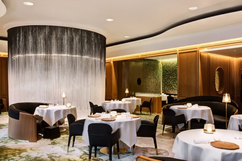 Inside Alain ducasse at the dorchester