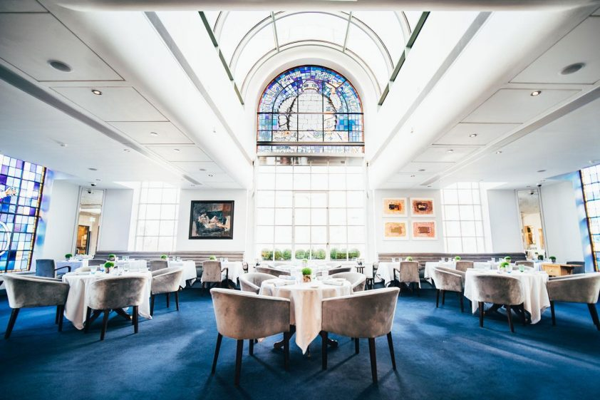 2 Michelin star restaurant, Claude Bosi at Bibendum