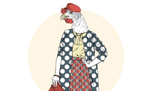 Classy Hen