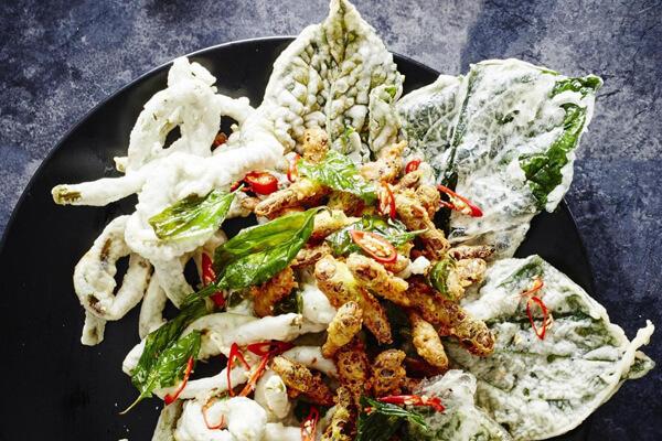 tempura grasshoppers carousel