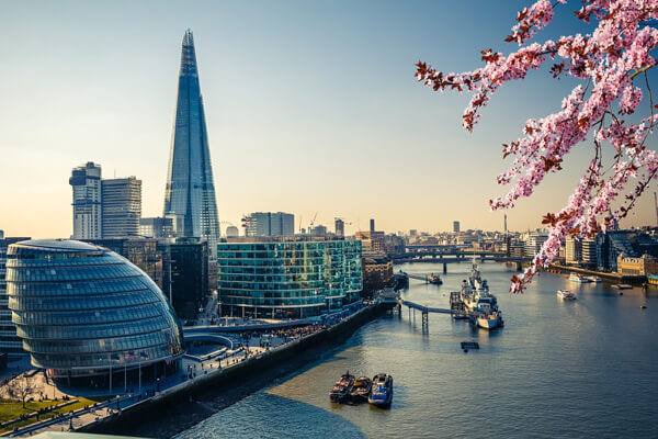spring london aerial