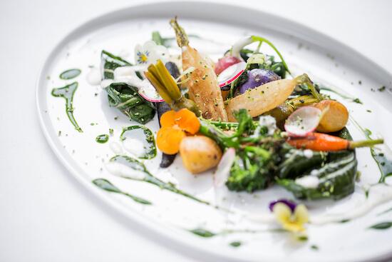 Sautéed seasonal vegetables