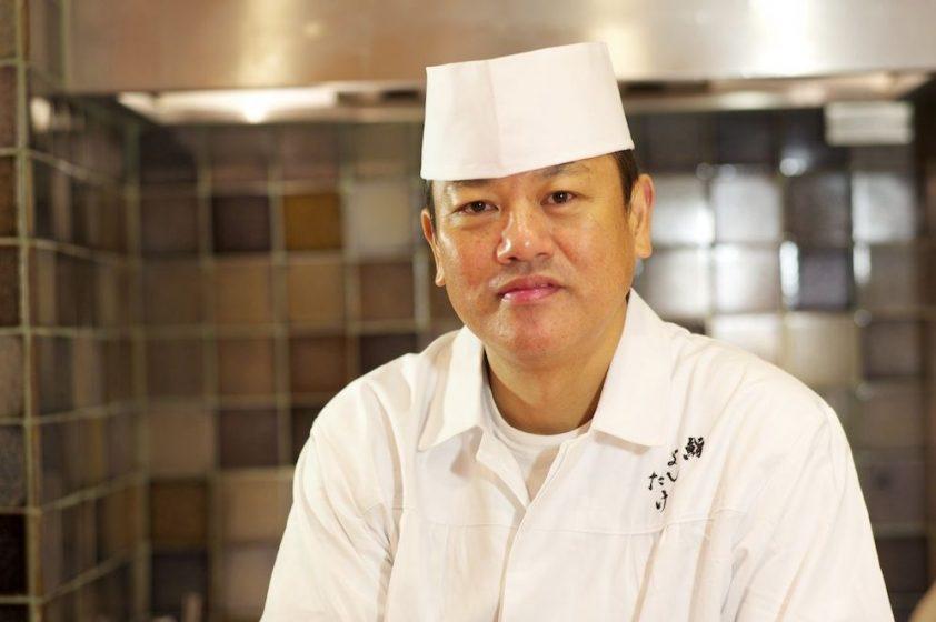 Chef Masahiro Yoshitake