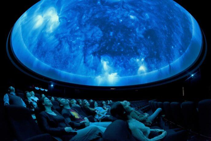 Planetarium Show At The Royal Observatory