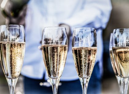 Champagne tasting experience