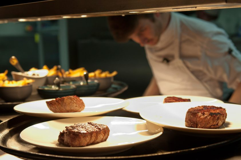Prime Steak on the Pass at M Restaurant