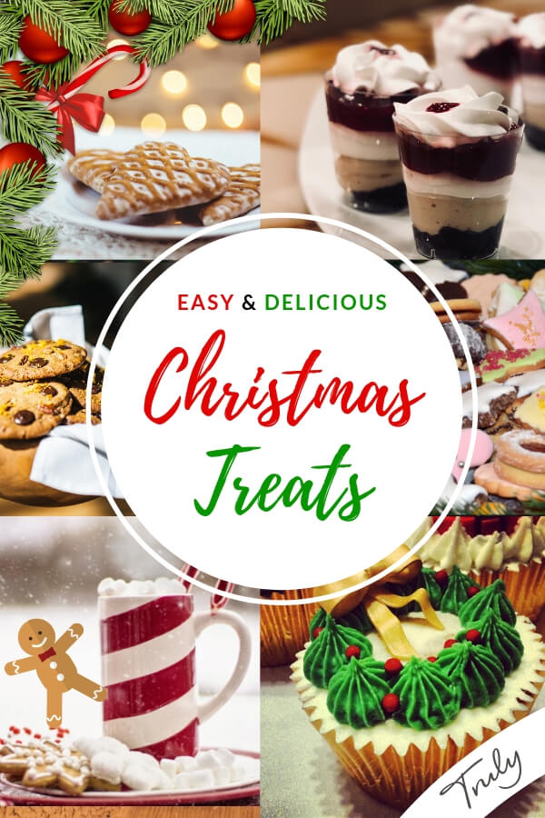 Christmas cookies and dessert recipes