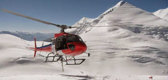 Everest Helicopter Ride