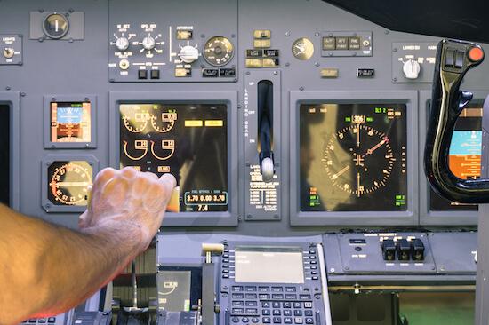 Full-Motion Flight Simulator Experience