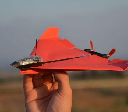 Smartphone Controlled Paper Aeroplane