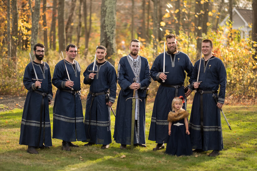 King's Guard Groomsmen