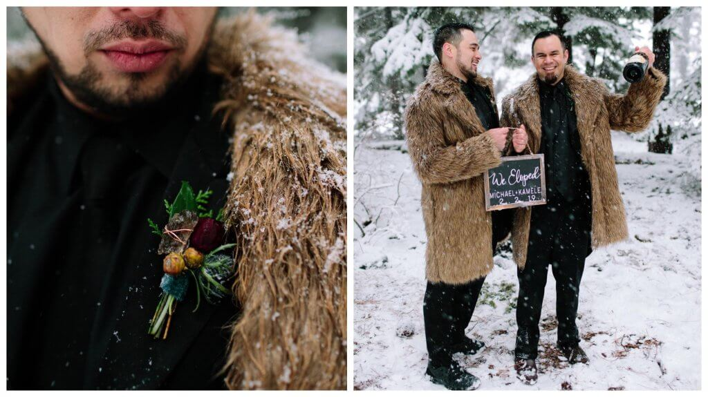 Game of Thrones Winter Wedding