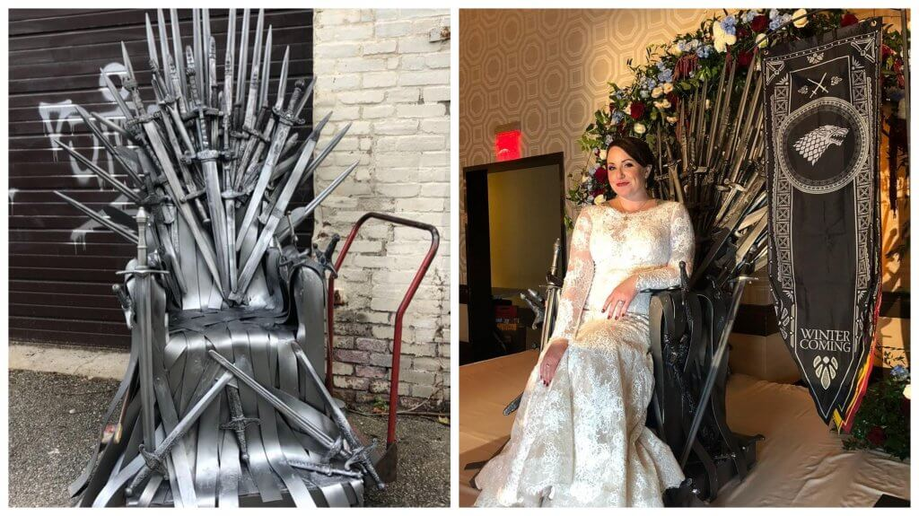 Iron Throne by Mocha Rose florists