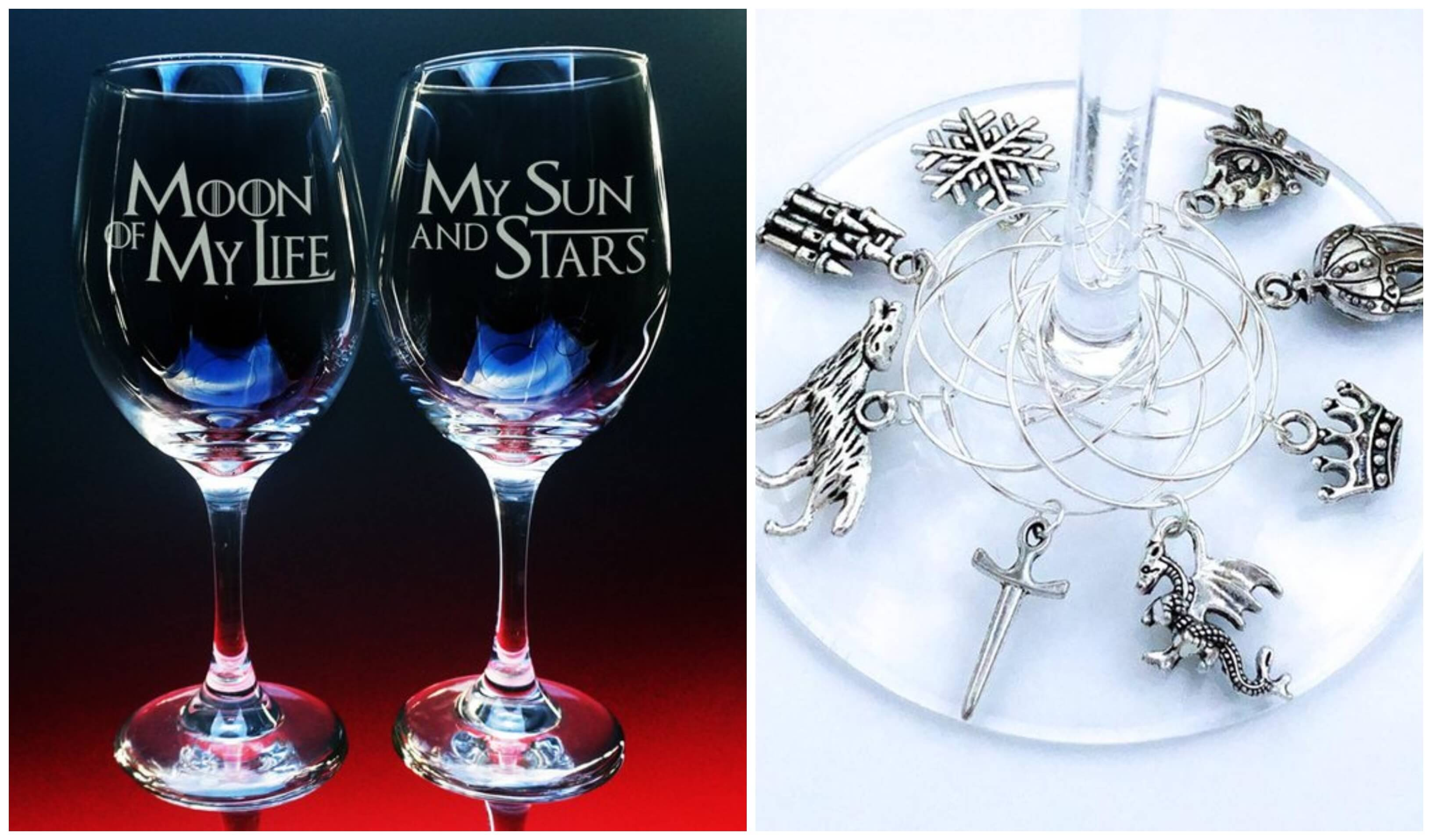 Got Wine Glasses and Charms