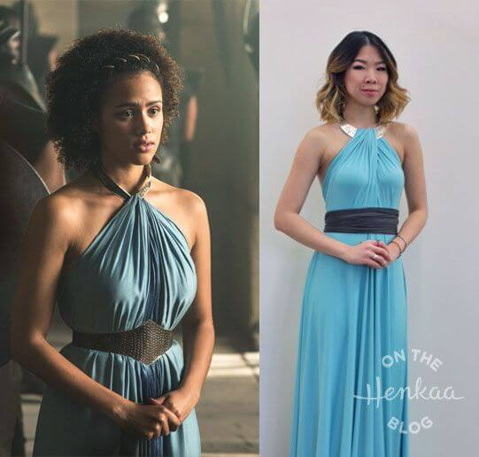 Missandei Bridesmaids Dress
