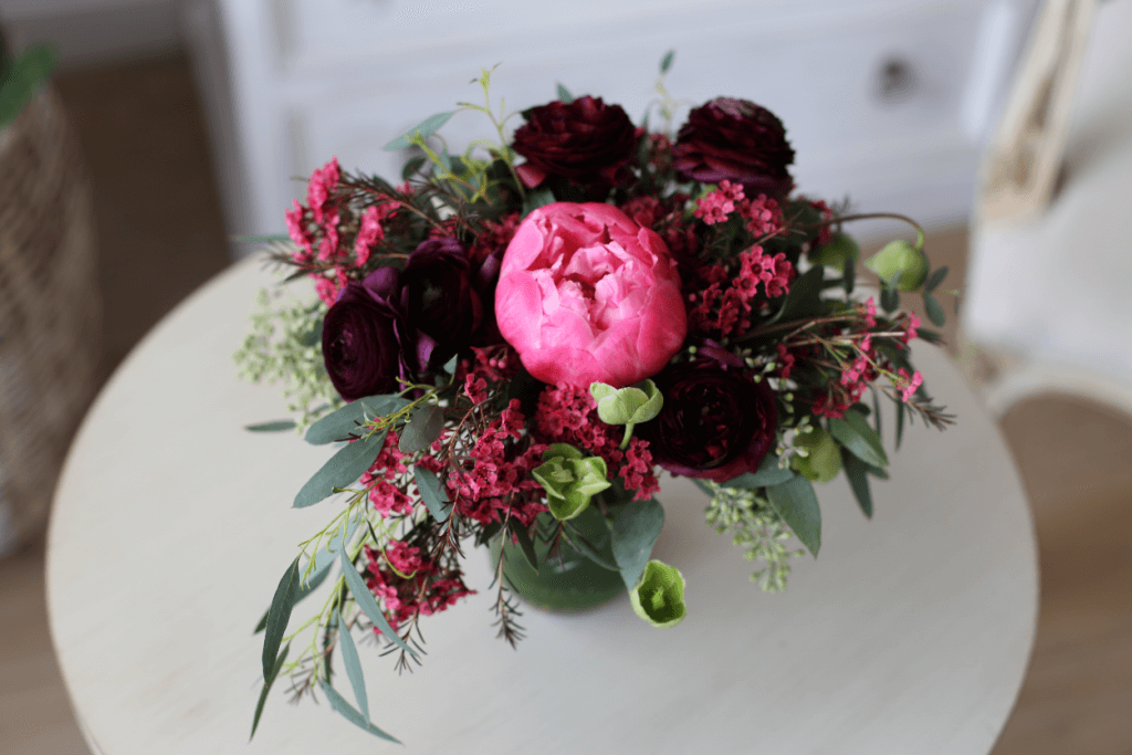 flowers for game of thrones wedding