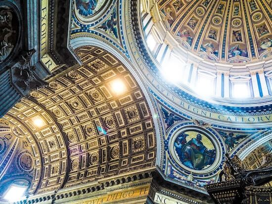 Golden Ceiling of the Vatican