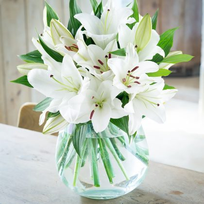 Casablanca lily bouquet