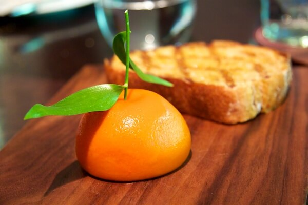 Mandarin at Dinner by Heston Blumenthal