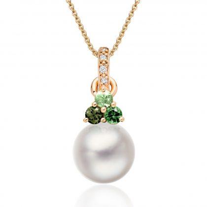 Pearl pendant anniversary gift