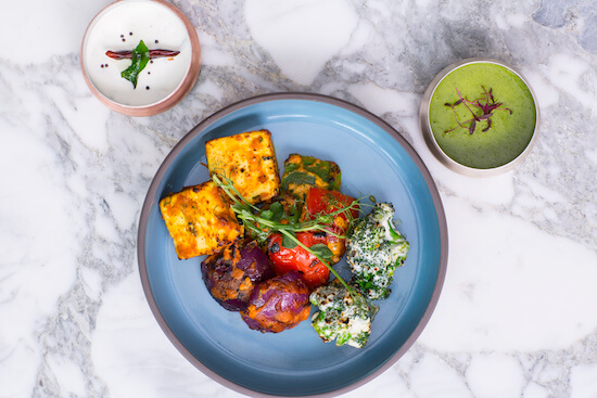Tandoori Subzi at Tamarind Kitchen
