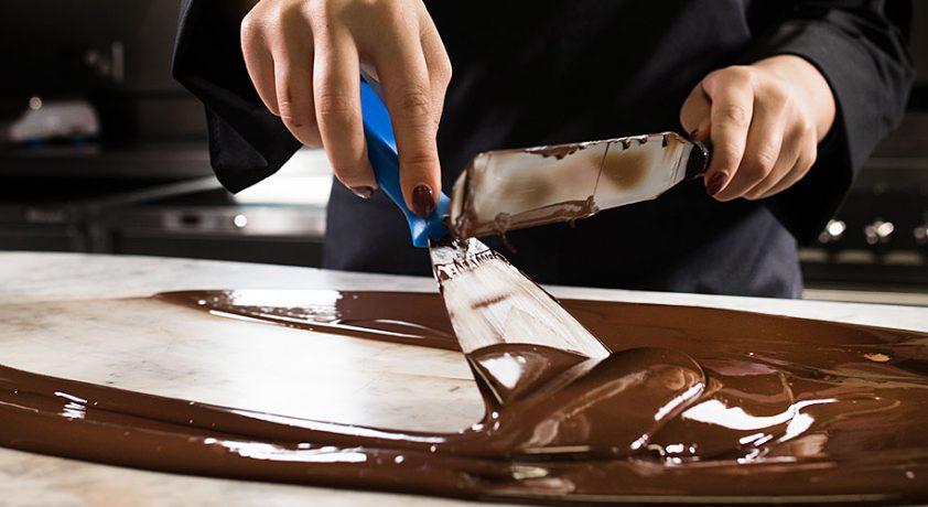 Hotel Chocolat Chocolatier Tempering